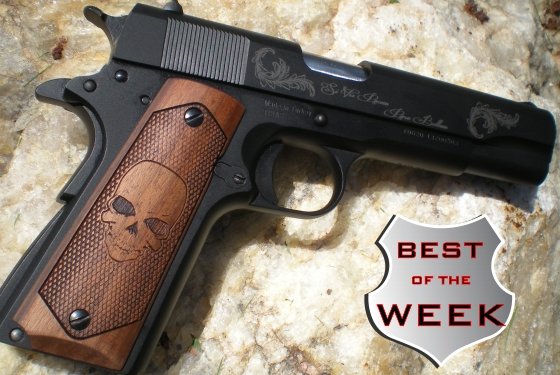 Custom Laser Etched 1911 Opinion Conservative