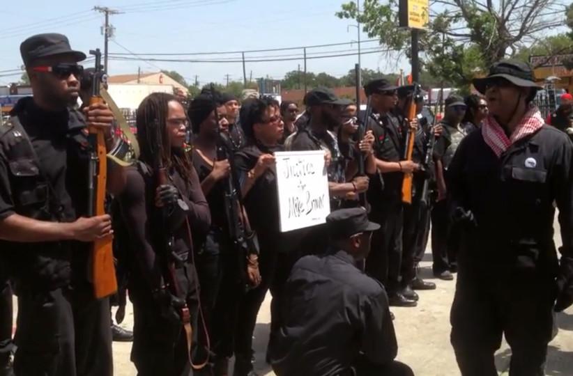 Black-armed-riot