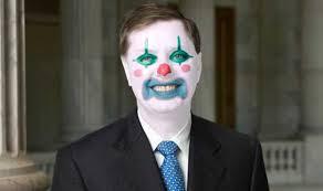 Image result for lindsey graham clown