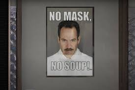 Where to Buy Seinfeld Face Masks: Soup Nazi Face Mask, Boomer Naturals -  Rolling Stone