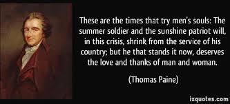"Austin Wade Petersen on Twitter: """"These are the times that try men's souls…""  -Thomas Paine… """